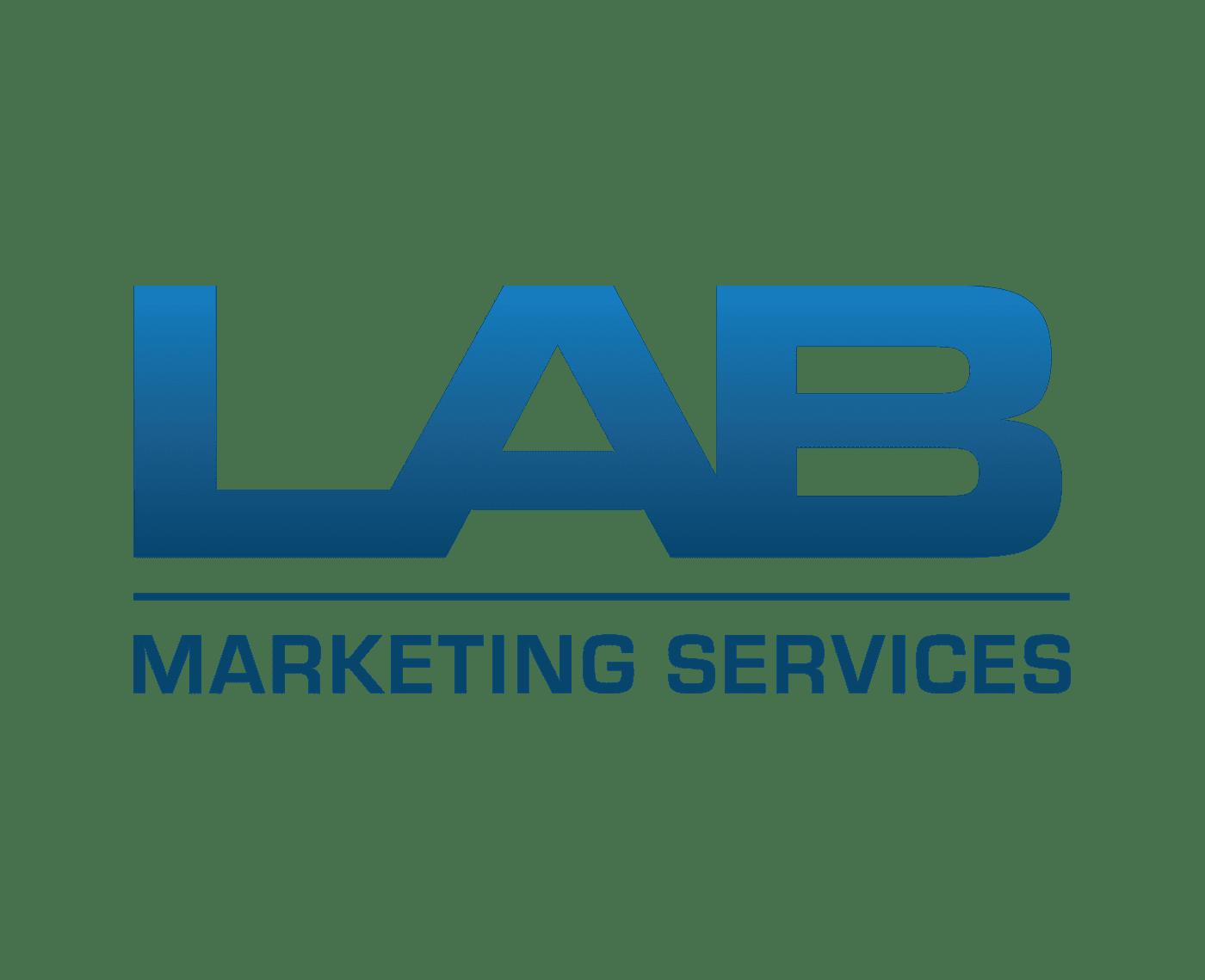 lab marketing services logo design concept by ryan bickett