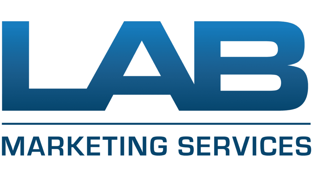 lab marketing services logo design concept by ryan bickett